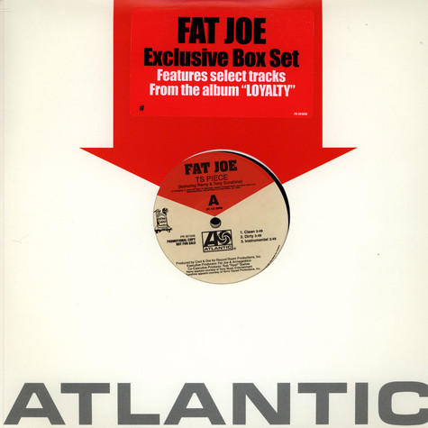 "Fat Joe - Exclusive Box Set Features Select Tracks From The Album ""Loyalty"""