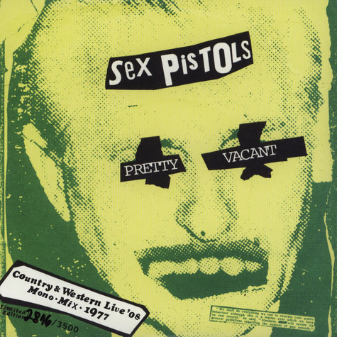 Sex Pistols - Pretty Vacant b/w No Fun