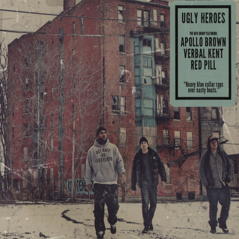 Ugly Heroes (Apollo Brown, Verbal Kent & Red Pill) - Ugly Heroes