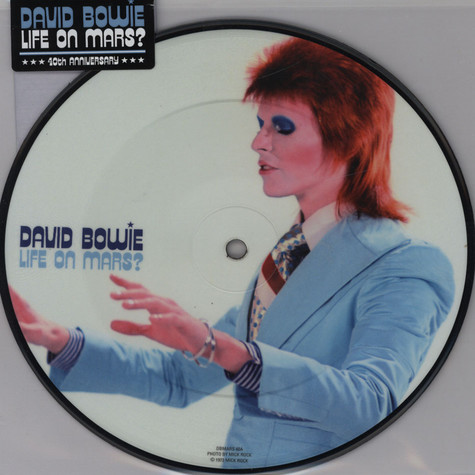 """David Bowie - Life On Mars? 40th Anniversary 7"""" Picture Disc"""