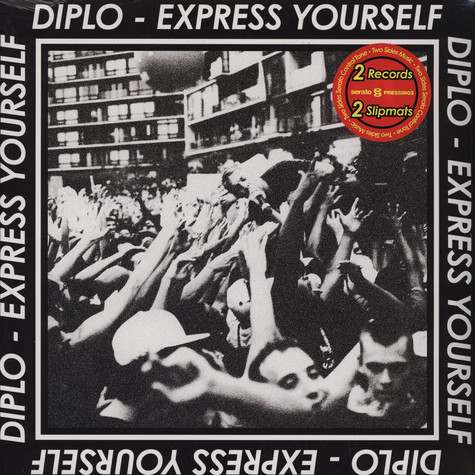 Diplo X Rane Serato - Express Yourself Serato Vinyl Collab
