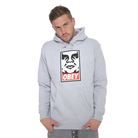 Obey - Obey Icon Face Hoodie