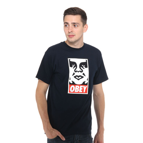 Obey - Obey Icon Face T-Shirt