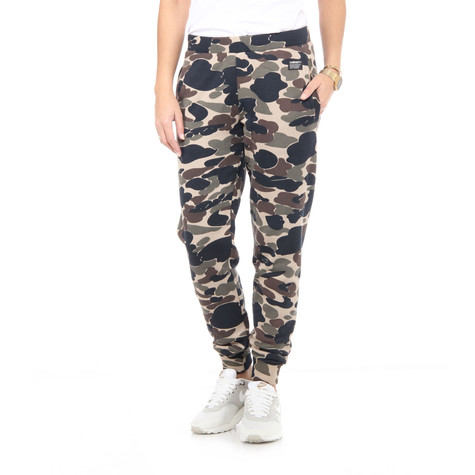 Carhartt WIP - Camo Women Sweat Pants