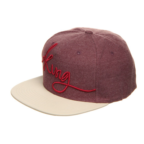 King-Apparel - Signature Pinch Panel Snapback Cap