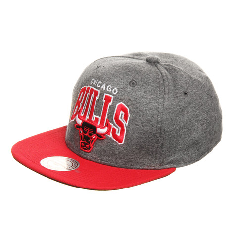 Mitchell & Ness - Chicago Bulls NBA Team Arch Jersey Snapback Cap