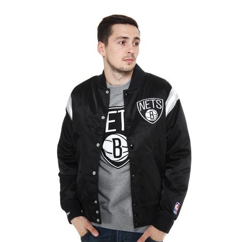 Mitchell & Ness - Brooklyn Nets NBA Division Satin Jacket