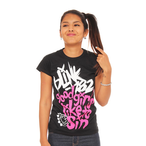 Blink 182 - Good Girls Women T-Shirt