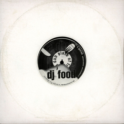 DJ Food - A Dub Plate Of Food