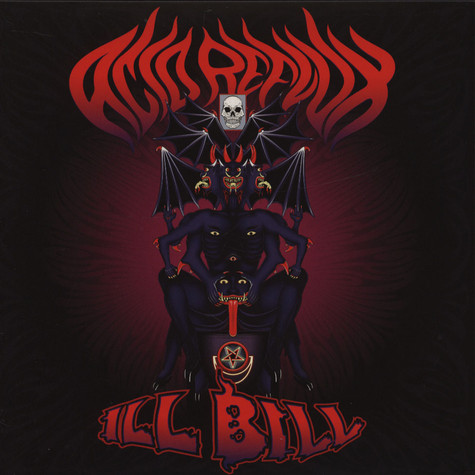 Ill Bill - Acid Reflux / Paul Baloff Blue Vinyl Edition