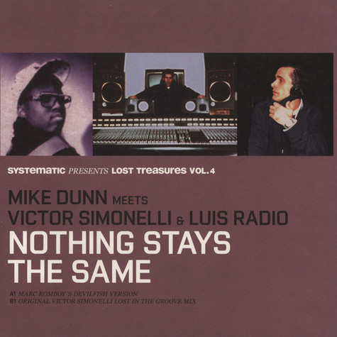 Mike Dunn meets Victor Simonelli & Luis Radio - Nothing Stays The Same (Marc Romboy & Original mixes)