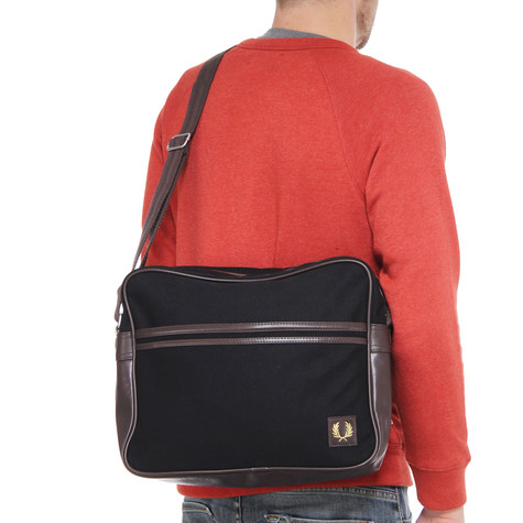 Fred Perry - Canvas Shoulder Bag