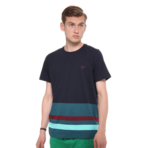 Fred Perry - Blocking Stripe T-Shirt