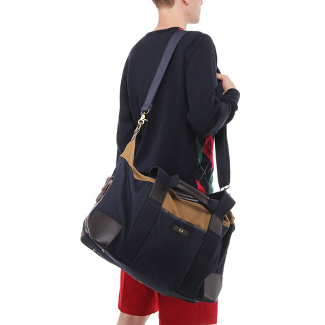 Fred Perry - Wax Canvas Holdall Bag
