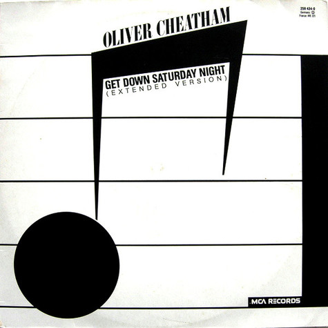 Oliver Cheatham - Get Down Saturday Night (Extended Version)