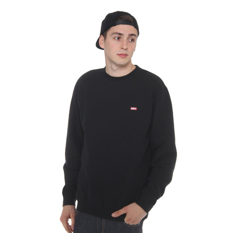 Obey - Bar Logo Crewneck Sweater