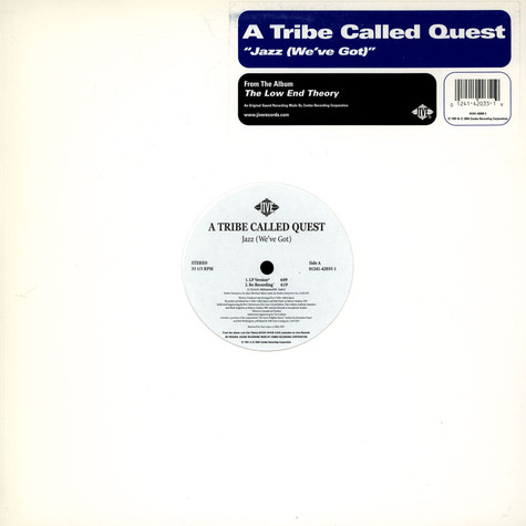 A Tribe Called Quest - Jazz