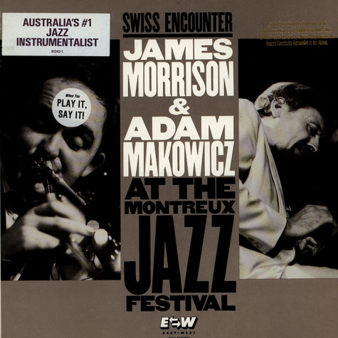 James Morrison & Adam Makowicz - Swiss Encounter - At The Montreau Jazz Festival