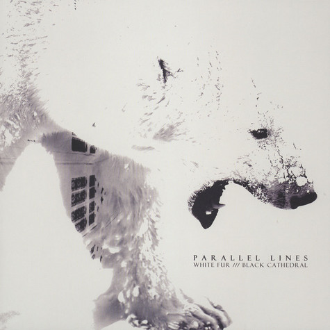 Parallel Lines - White Fur /// Black Cathedral