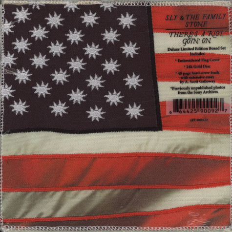 Sly & The Family Stone - There's A Riot Goin' On Gold Disc Edition