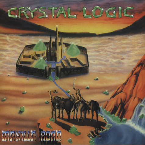 Manilla Road - Crystal Logic Solid Orange Vinyl Edition