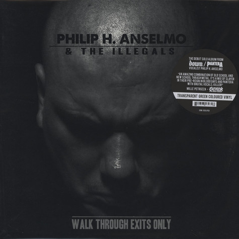Philip H. Anselmo & The Illegals - Walk Through Exits Only Swamp Green Vinyl Edition