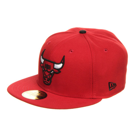 New Era - Chicago Bulls NBA Patched Team 59Fifty Cap