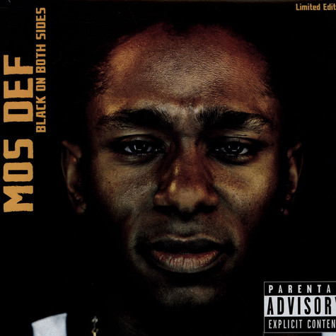 Mos Def - Black On Both Sides Colored Vinyl Version