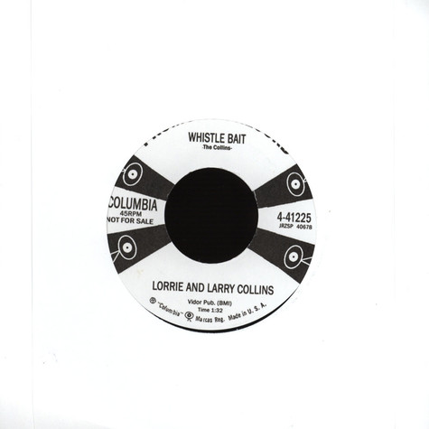 Lorrie And Larry Collins - Whistle Bait / Hot Rod
