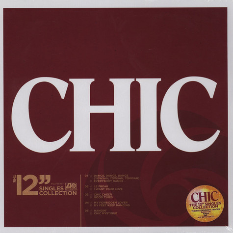 """Chic - 12"""" Singles Collection"""
