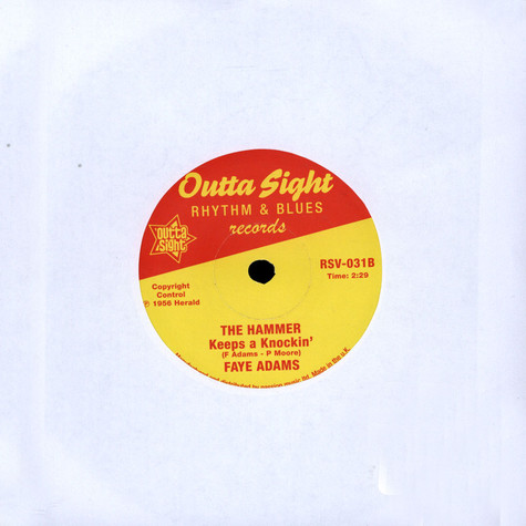 Mary Ann Fisher / Faye Adams - Put On My Shoes / The Hammer