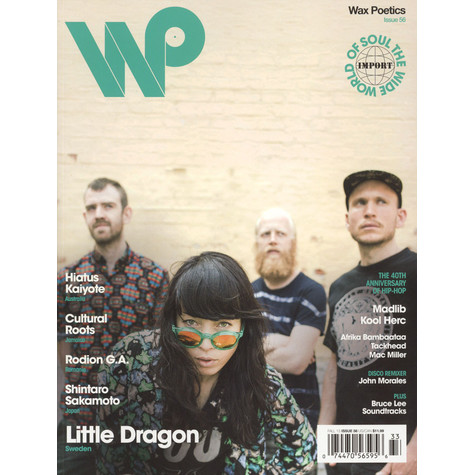 Waxpoetics - Issue 56 - Little Dragon / Hiatus Kaiyote Cover