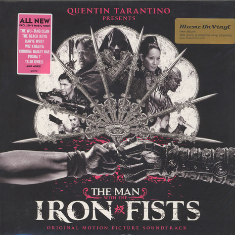 V.A. - OST The Man With The Iron Fists Black Vinyl Edition