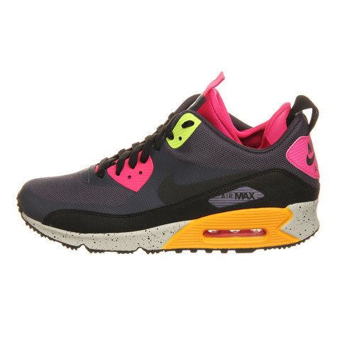 pretty nice 91a68 30996 Nike. Air Max 90 Sneakerboot NS (Gridiron   Black   Pink ...