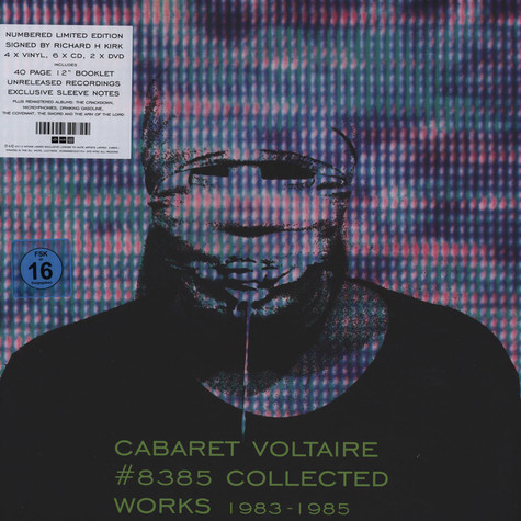 Cabaret Voltaire - No.8385 (Collected Works 1983-1985)