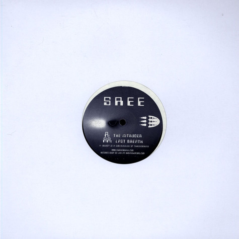 Sree - The Intruder / Last Break