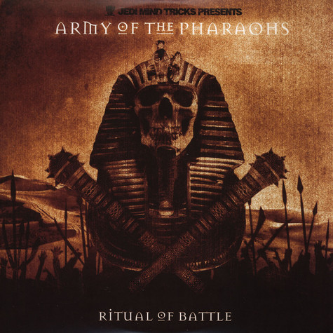 Army Of The Pharaohs - Ritual Of Battle Orange Vinyl Edition