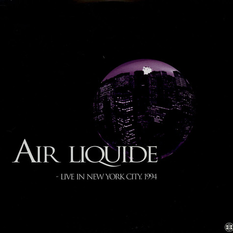 Air Liquide - Live In New York City. 1994