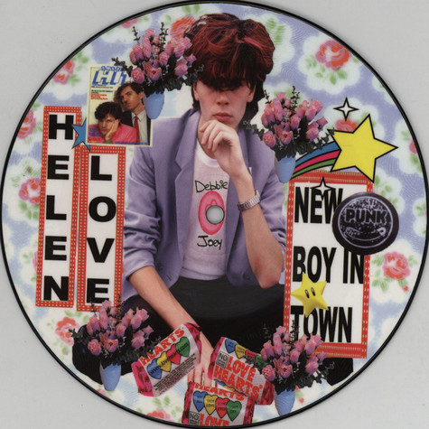 Helen Love - New Boy In Town / Television Generation