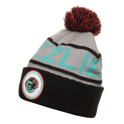 Mitchell & Ness - Vancouver Grizzlies NBA High 5 Cuffed Knit Beanie