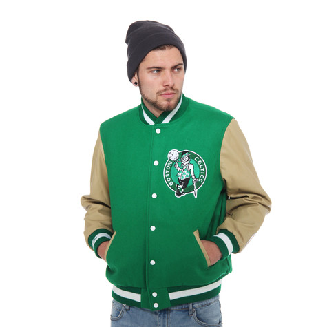 Mitchell & Ness - Boston Celtics NBA Wool Leather Varsity Jacket