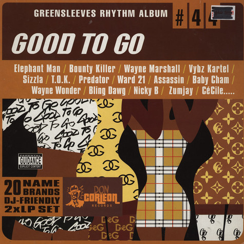 V.A. - Good To Go - Greensleeves Rhythm Album #44