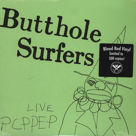 Butthole Surfers - Live PCPPEP Red Vinyl Edition