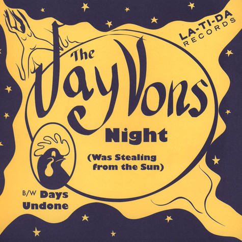 Jay Vons, The - Night (Was Stealing From The Sun)