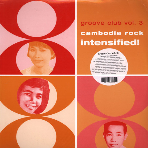 V.A. - Groove Club Vol. 3: Cambodia Rock Intensified!