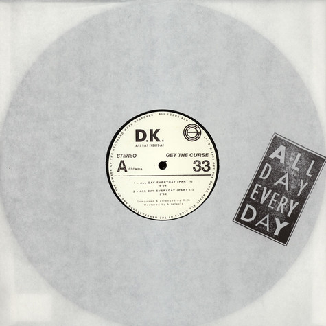 D.K. - All Day Everyday