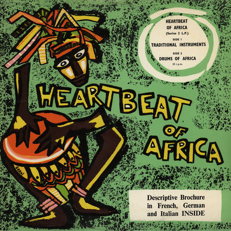 Unknown Artist - Heartbeat Of Africa - Traditional Instruments / Drums Of Africa