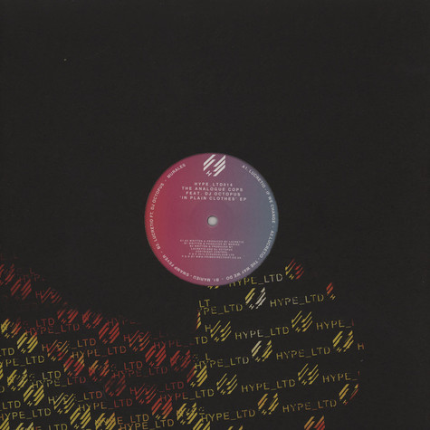 Analogue Cops, The - In Plain Clothes EP feat. DJ Octopus