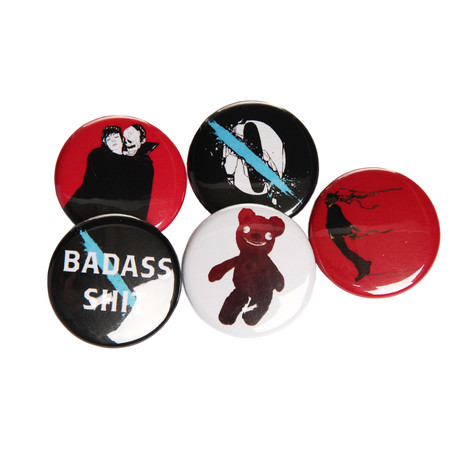 Queens Of The Stone Age - Like Clockwork Button (Set of 5)