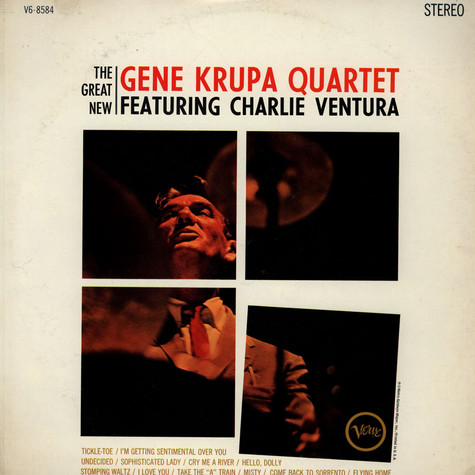 Gene Krupa Quartet - The Great New Gene Krupa Quartet feat. Charlie Ventura